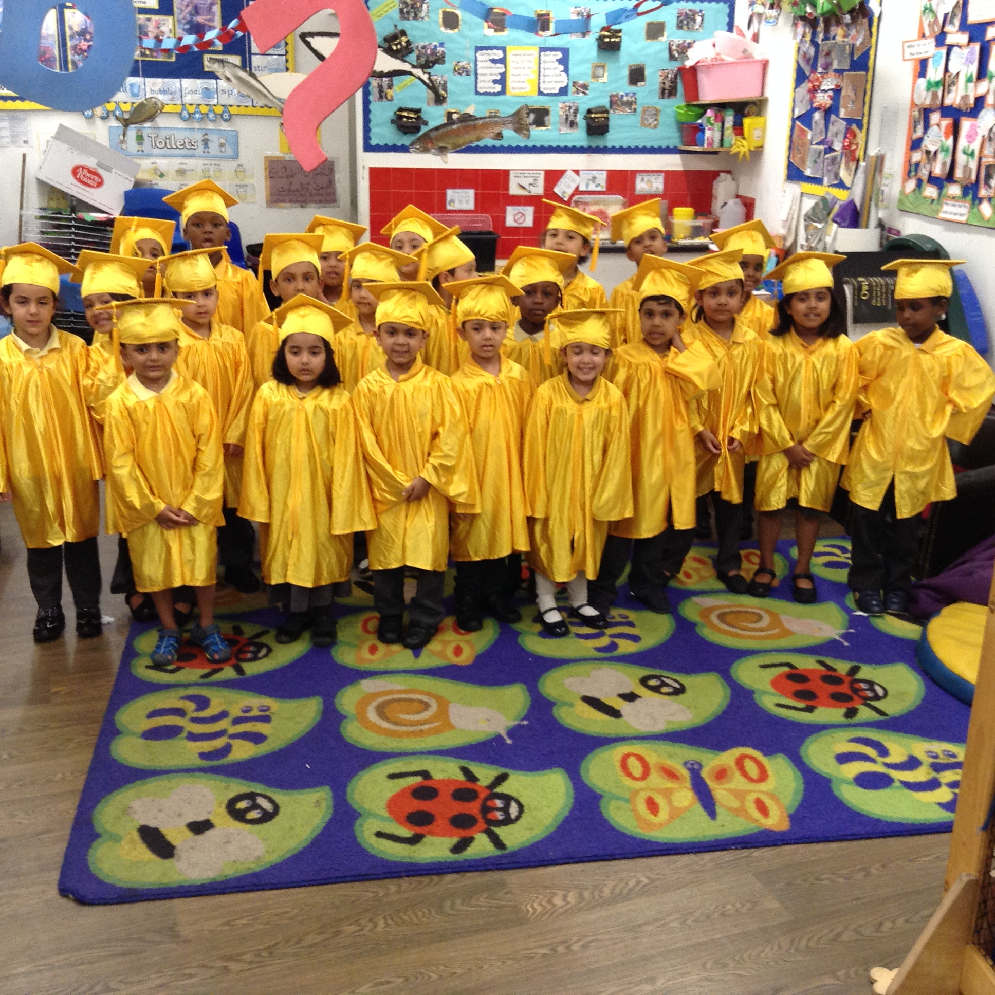 Year 6 And Reception Class Graduation Ceremony 2016